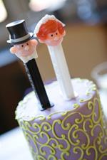 Click to view album: Jill and Brian Centerpiece Cakes