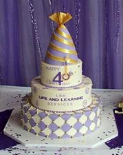 LDA Birthday Cake