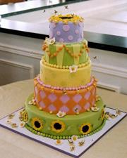 Five tier whimsical
