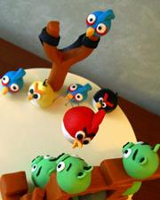 Click to view album: Angry Birds Cake