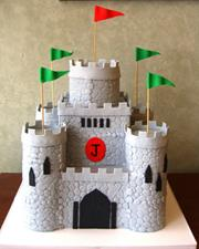 Children's Castle Cake