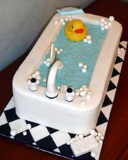Click to view album: Bathtime Cake