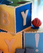Click to view album: Baby Block Cakes