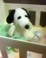 Click to view album: Snoopy Crib Cake